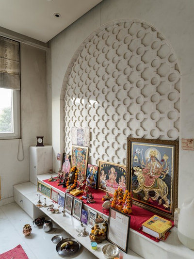 Indian Family Room by homes by design