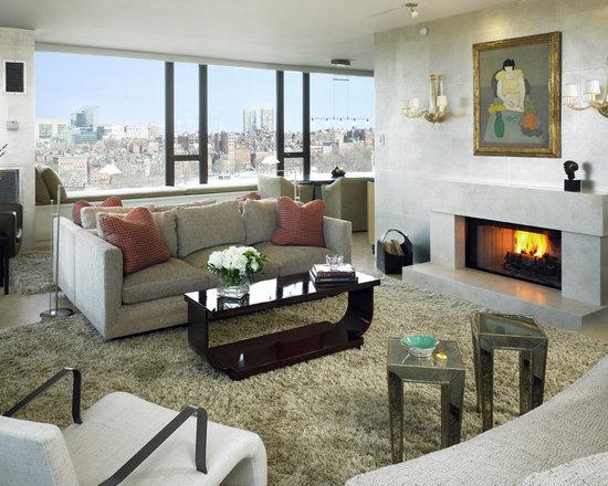 limestone fireplace | houzz