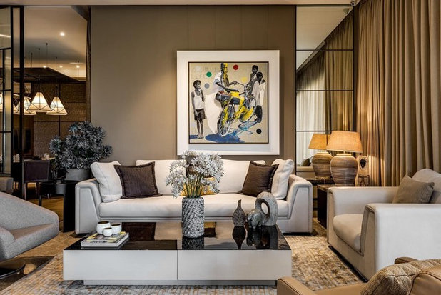 Contemporary Living Room by Hemant Patil Photography