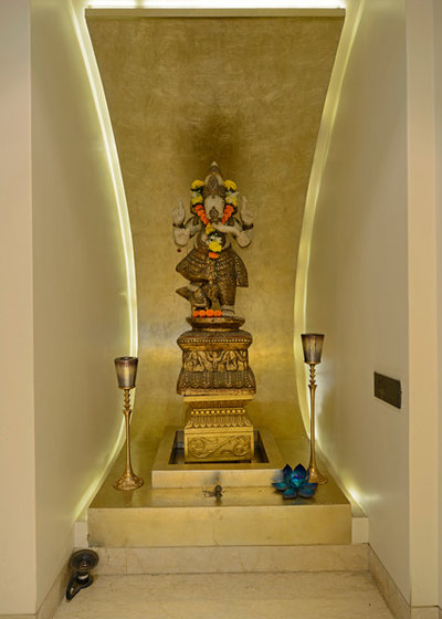 Indian Family Room by Prashant Bhat Photography