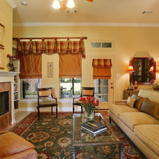 Traditional Living Room by P.A.S. Interiors, LLC