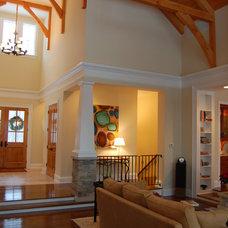 Traditional Living Room by Hibler Design Studio