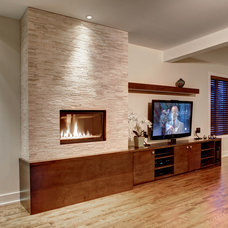 Contemporary Living Room by Marie Lambert Design