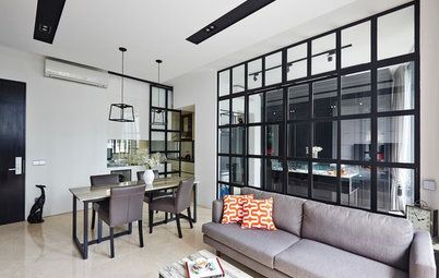 5 Apartments With Black and White Drama