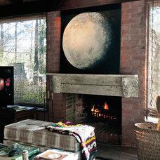 Eclectic Living Room by Liliana Di Lorenzo
