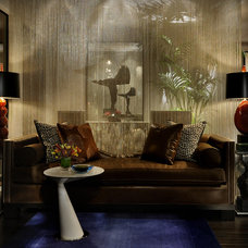 Eclectic Living Room by Bernard Andre Photography