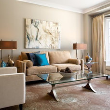 Eclectic Living Room by Andrew Ross Photography