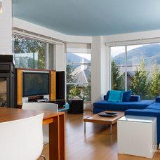 Contemporary Living Room by jsmDIGITAL