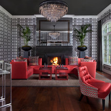Contemporary Living Room by Beth Singer Photographer Inc.
