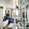 13 Clever Ideas for Living Room Shelving