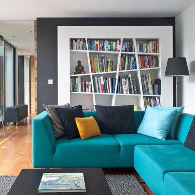 Contemporain Salon by Simon Maxwell Photography