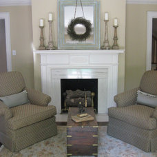 Traditional Living Room by Southern Touch Interiors, LLC