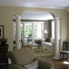 Mediterranean Living Room by Southern Touch Interiors, LLC