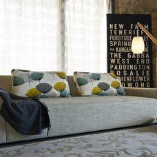 Modern Living Room by K Co Design