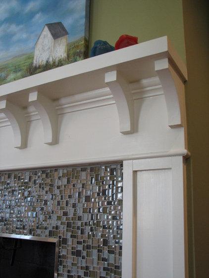 Contemporary Living Room by Studio M Interiors