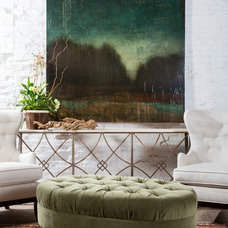 Eclectic Living Room by Patrick Heagney Photography