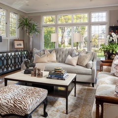 traditional living room by Shelley & Company Interior Design