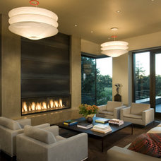 Contemporary Living Room by Randall Whitehead Lighting Solutions