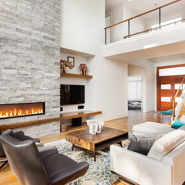 RESIDENTIAL PROJECTS WOOD MODERN LOOKS ARD