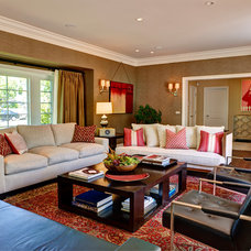 Transitional Living Room by Artistic Environments, Inc.