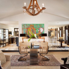 Contemporary Living Room by Laird Jackson Design House, LLC.