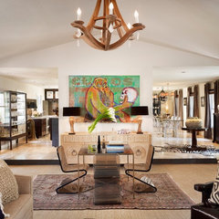contemporary living room by Laird Jackson Design House