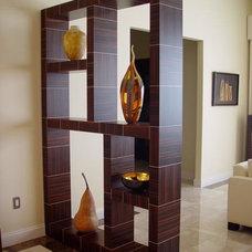 Contemporary Living Room by Herzog Veneers, Inc.