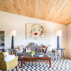 Eclectic Living Room by French & French Interiors