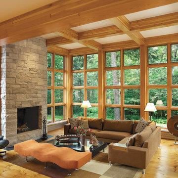 Restored American International Style Home