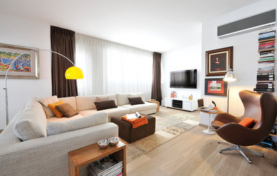 2018 Colour Trends: How to Use Orange, Yellow and Brown in Decor