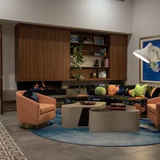 Retro Living Room Décor
