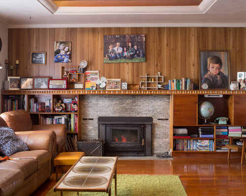 Midcentury Living Room Design Ideas, Renovations & Photos