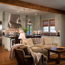 Traditional Living Room by Kevin L Harris, Architect LLC