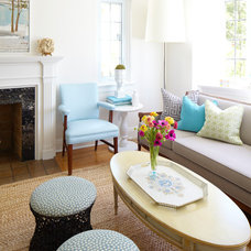 Traditional Living Room Reviving a classic tudor cottage to a fresh family home