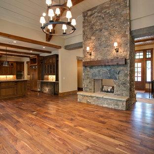 Fireplace Wood Plank Houzz