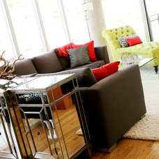 Contemporary Living Room by Pure Bliss Creative Design