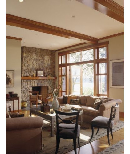 Contemporary Craftsman Living Room: Contemporary Craftsman: Updating Arts & Crafts