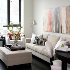 Contemporary Living Room by Kerrisdale Design Inc