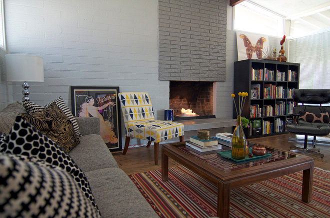 Midcentury Living Room by Sarah Greenman