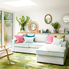 Contemporary Living Room by Amory Brown