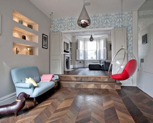 Living Room Wallpaper Ideas | Houzz