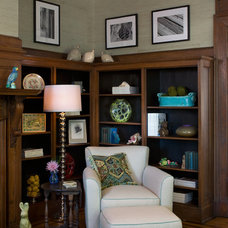 Traditional Family Room by Randy Trainor