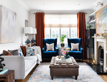 Richmond Townhouse Living Room Makeover