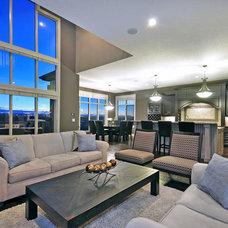 Contemporary Living Room by Jordan Lotoski