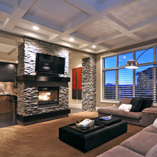 Modern Living Room by Jordan Lotoski