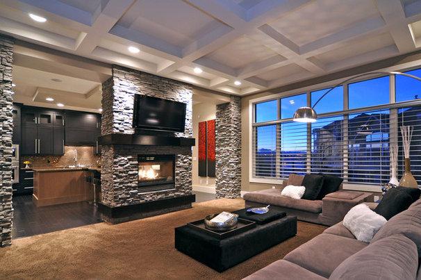 Modern Living Room by Jordan Lotoski