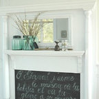 Chalk Board Paint San Francisco Dining Room Eclectic