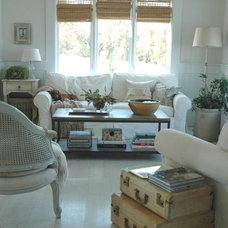 Farmhouse Living Room by Home & Harmony