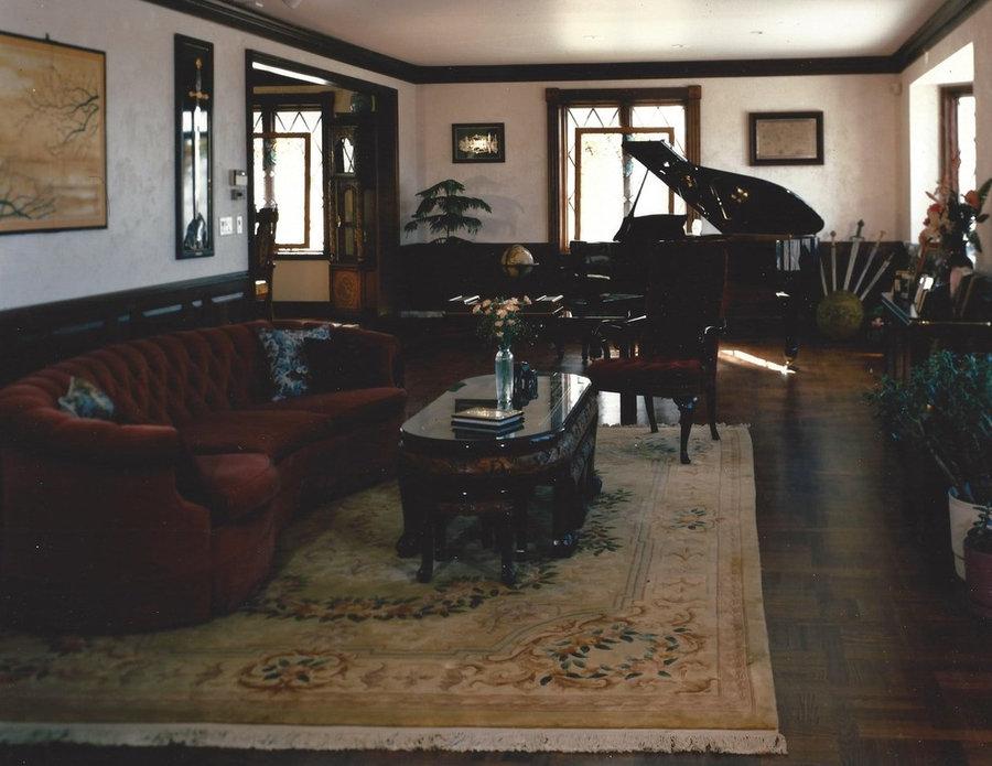 Rittenhouse Estate - Living Room
