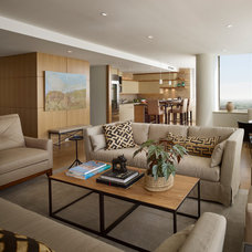 Contemporary Living Room by Shay Construction, Inc.